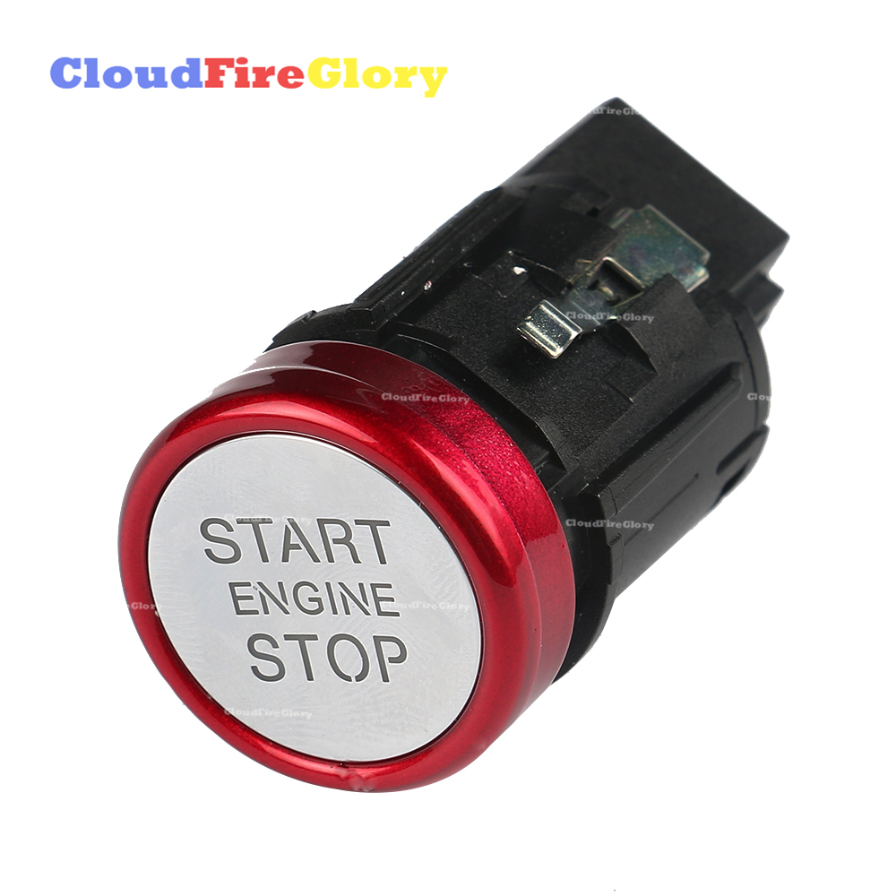 For Audi A6 C7 2011 2012 2013 2014 2015 2016 A7 RS6 RS7 2014 2015 2016 Chrome Engine Start Stop Switch Push Button 4G1905217A