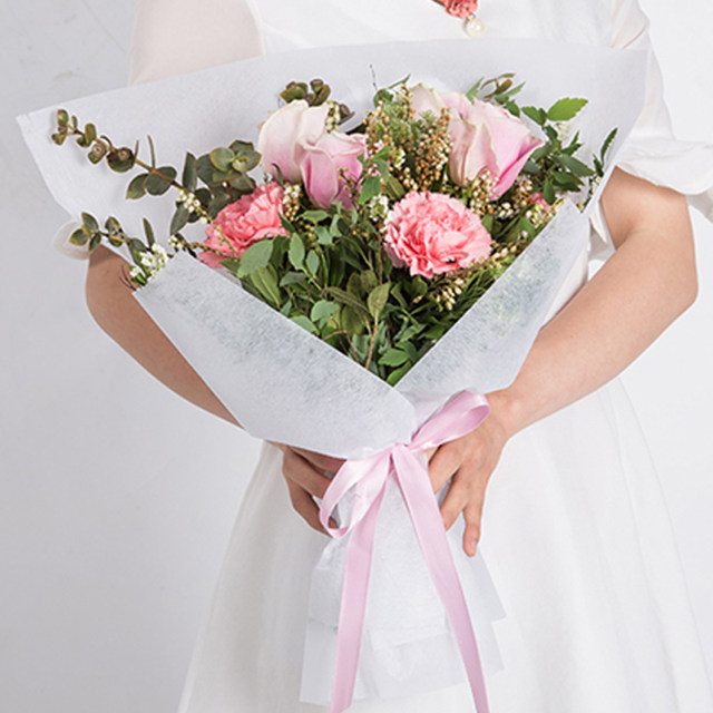 Flowers Wrapped In Paper Choice Image - Flower Decoration Ideas
