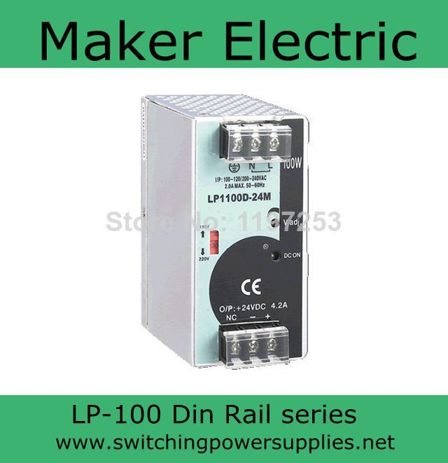 universal input power supply 48v 100w din LP-100-48 switching power Without the function of measuring shakespeare w the merchant of venice книга для чтения