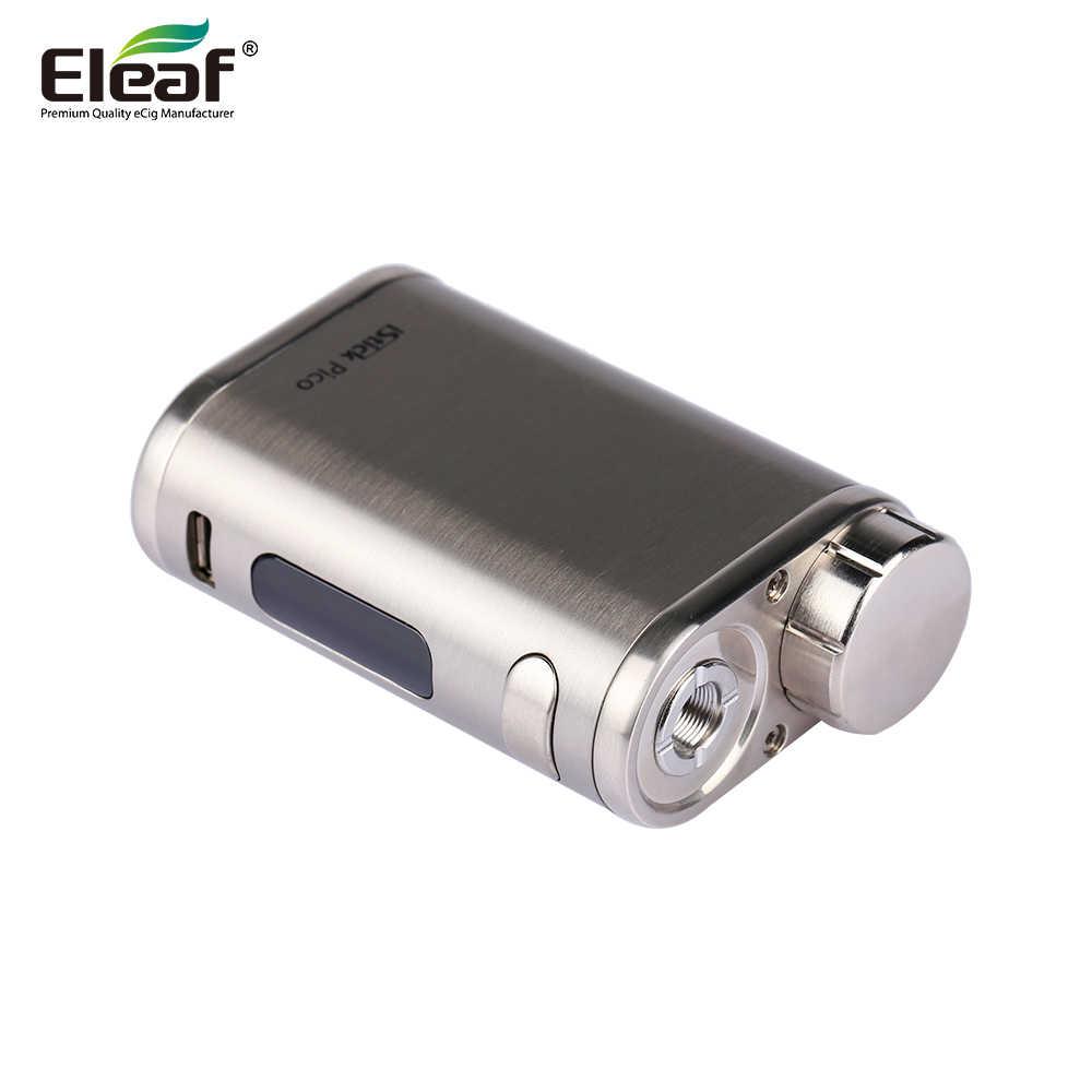 Оригинальный Eleaf Istick pico Mod электронная сигарета 75 Вт TC поле Vape без melo 3 танк распылитель без 18650 батарея испаритель