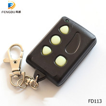 10PCS Remocon RMC-555 garage gate door controller compatible Remocon RMC-555 fixed code remotes control keyfod free shipping(China)