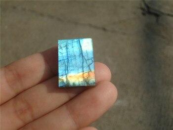 5g 100% Natural large satellite hexagonal Labradorite ,Crystal Healing LA1037