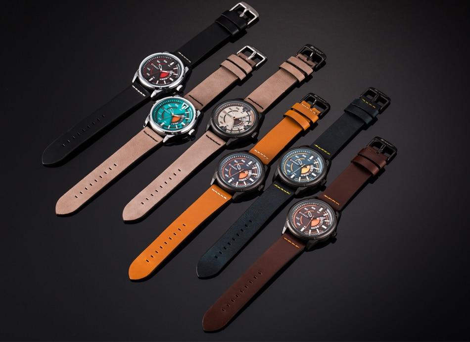 CURREN 8298  Wrist Watch