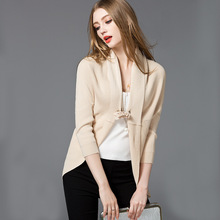 2016 New Women Batwing Sleeve Cardigan Sweater V-neck Open Stitch Thin Casual Poncho