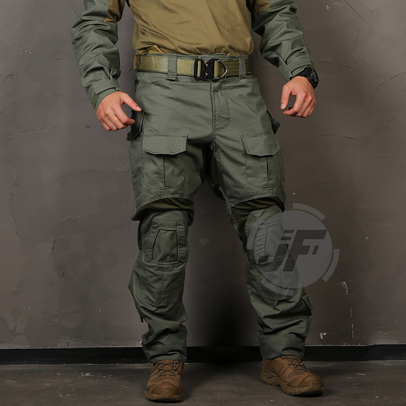 Emersongear Combat-Pants Tactical-Clothes Battlefield Trousers Knee-Pads Airsoft Version