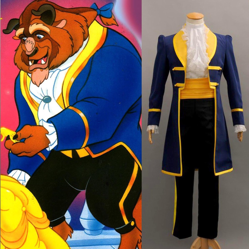 Beauty and the Beast Prince Adam Cosplay Costume Jacket Shirt Pants Cusom Made-in Movie & TV costumes from Novelty & Special Use    1