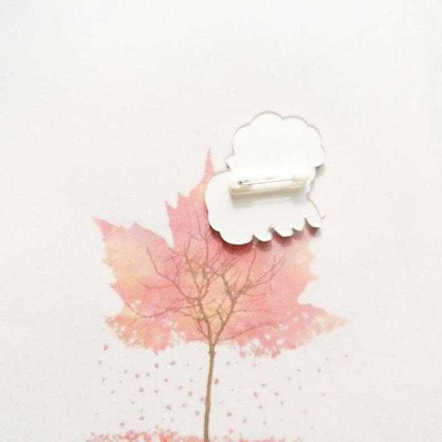 Kawaii Acrylic Pin for Clothing