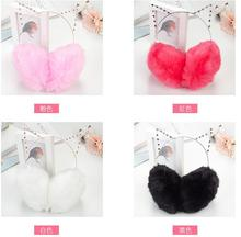 5x Winter Earmuff Warm Ear Muffs Headphones Girls Earmuffs High Quality Cat Shape Earmuff for Women Earmuff Protection Ear