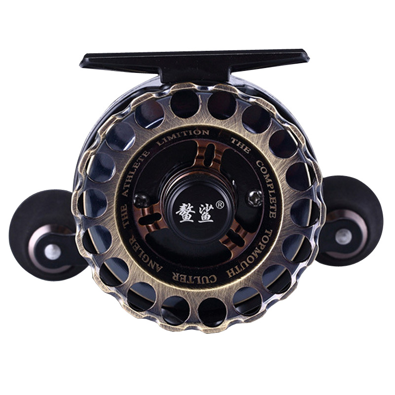 Full metal Fishing reel 8+1BB Fly Automatic cable Reel Gear ratio 3.6 :1 Fishing Left/Right Hand Raft Ice Fishing Reel Fly Reel