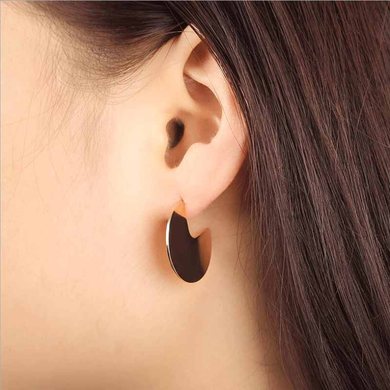 Pendientes Plata De Ley 925 Mujer 2019 Europe And America Exaggerated Punk Rock 100 925 Silver Needle Geometric Ear Studs Qw 42 in Stud Earrings from Jewelry Accessories
