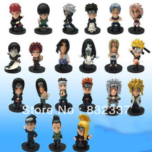 Hot Sale Anime Cartoon Cute Naruto Toys 21 pcs/set action figure Best gifts collections Free Shipping
