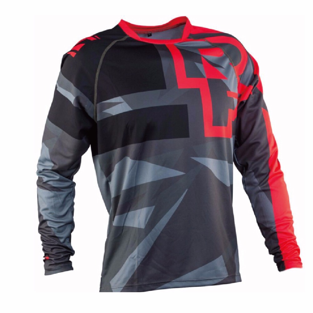 2018 New Arrival Motocross Jersey MX MTB Off Road Jersey Mountain Bike Downhill Bicycle Shirts & Tops motorcycle jersey