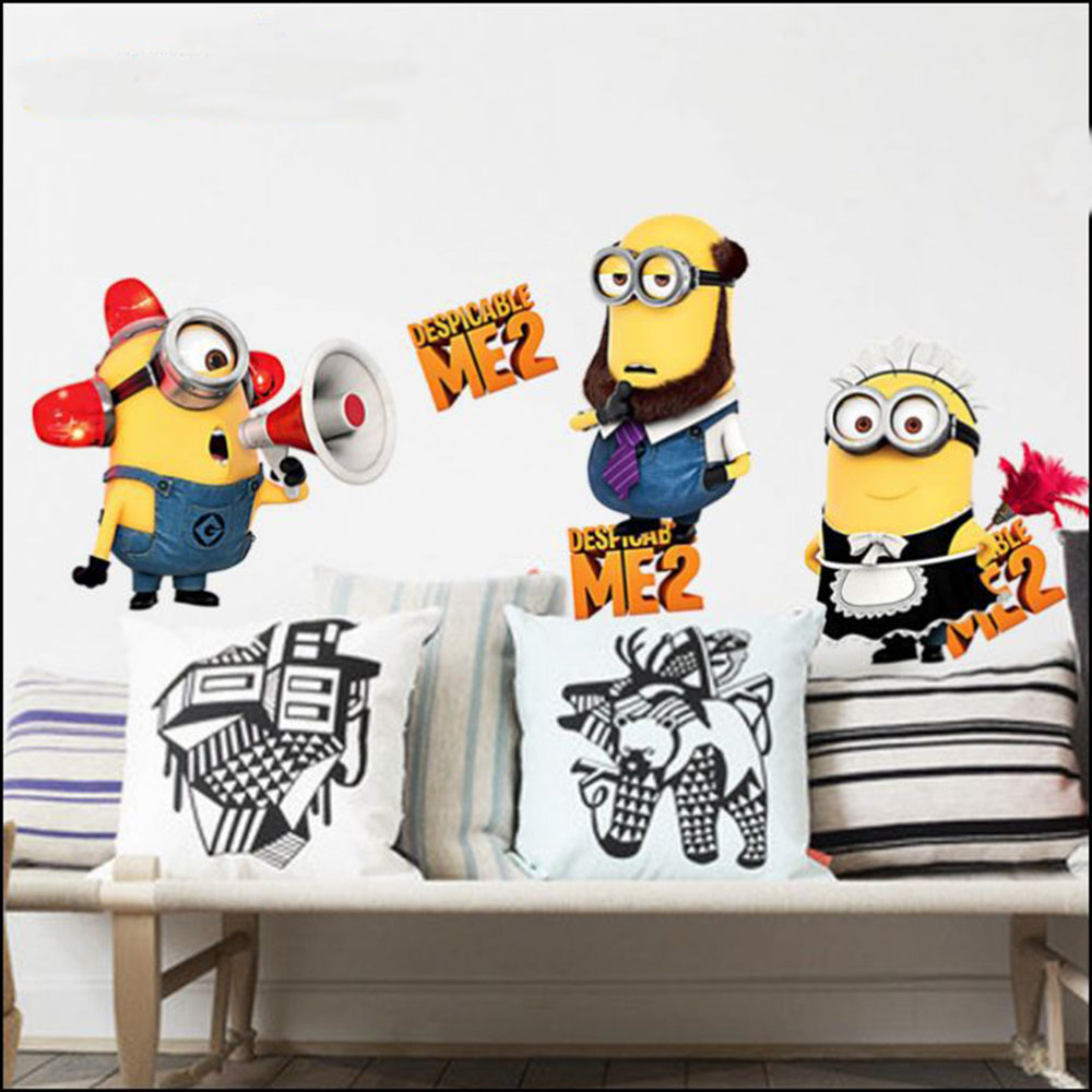 Minion Wall Decor minions wall decoration promotion-shop for promotional minions