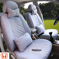 Alta qualidade Universal Tampa de Assento Do Carro Para Honda civic accord CR-V XR-V fit PRETO/CINZA/VERMELHO acessórios do carro