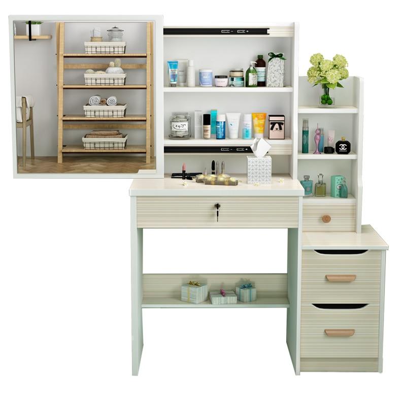 Aparador Cabinet Camera Da Letto Coiffeuse Schminktisch Mesa Set Wood Korean Penteadeira Bedroom Furniture Dressing Table