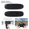 C120 Air Mouse Remote Controller Wireless Game Keyboard Rechargeable 2.4Ghz Keyboard for Android Smart TV/TV Box/ Mini PC