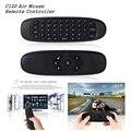 C120 Air Mouse Controle Remoto Teclado Jogo Recarregável 2.4 Ghz Teclado Sem Fio para Android Smart TV/TV Box/Mini PC