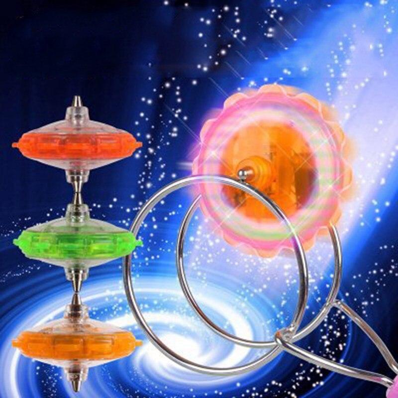 Ruimdenkende Magic Led Gyroscoop Flash Speelgoed Kraam Verkopen Magnetische Tol Track Jojo Speelgoed Voor Kinderen Gift Magic Spinning Gyroscoop Gunstig Voor EssentiëLe Medulla