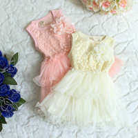 2014 New Bebe Clothing Girl Chiffon Dress Children Baby Girl S Summer Sleeveless Ball Gown Dress