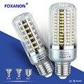 Foxanon Led Bulb 25W 20W 15W 10W 5W Corn Light 85-265V E27 E14 E12 Leds Lamp 5736 Corn Bulb Lampada Aluminum Radiator Lighting