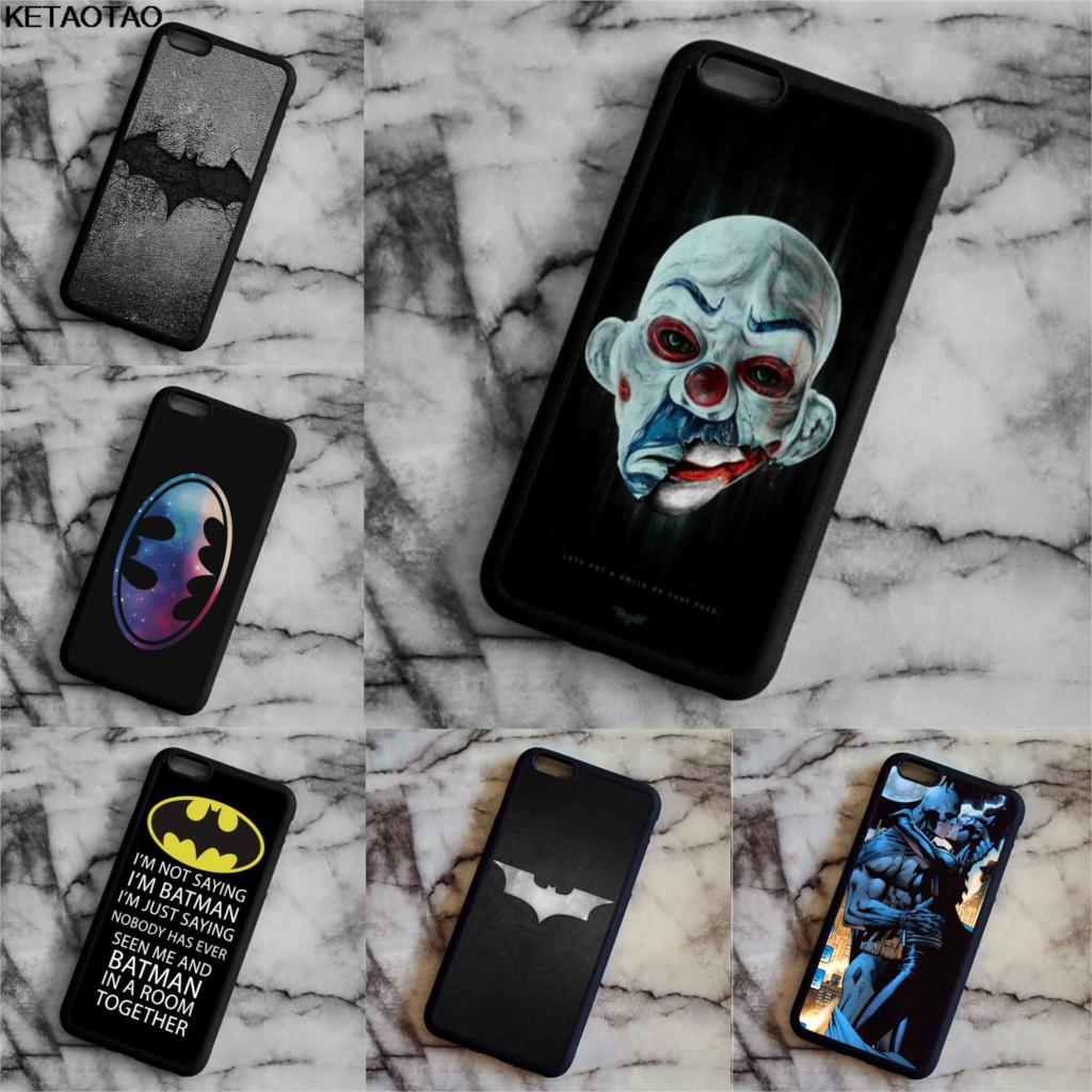 KETAOTAO Starry Night Superhero Batman Dark Knight Phone Cases for Samsung S3 4 5 6 7 8 9 Note 7 8 Case Soft TPU Rubber Silicone