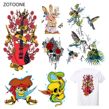 ZOTOONE Stripes Iron on Transfer Patches on Clothing Diy Patch Heat Transfer for Clothes Decoration Sticker Accessorie for Kid G цена