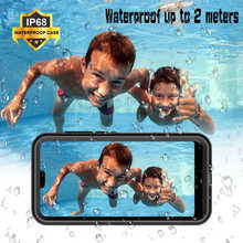 Leanonus P20 Lite Waterproof Case for Huawei Pro Shockproof Outdoor Snow Proof Funda Coques