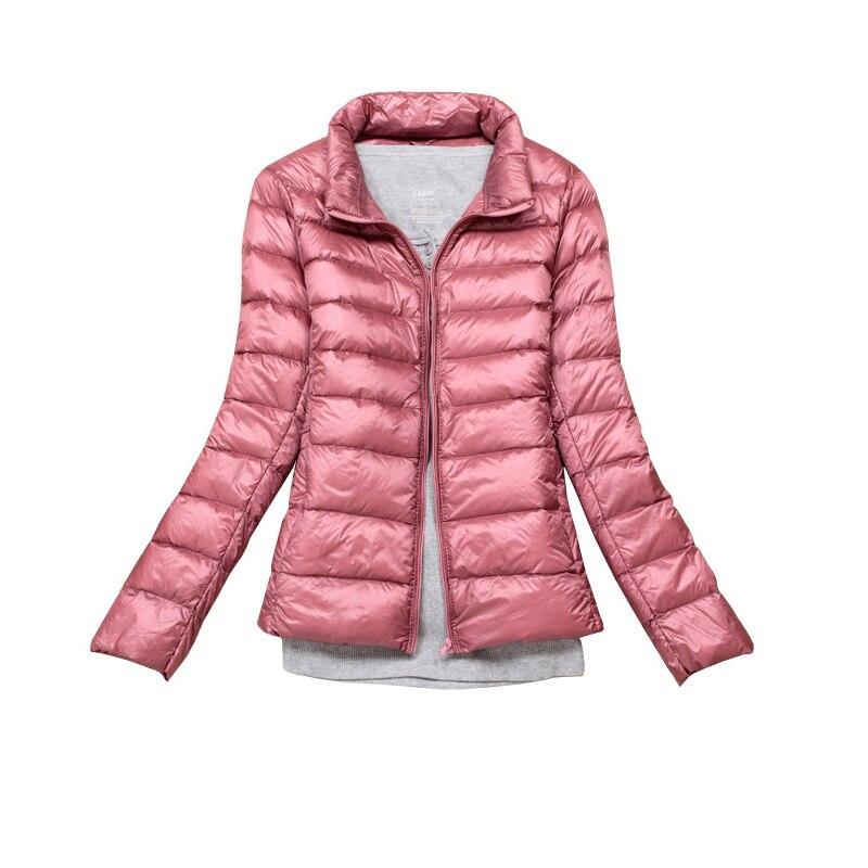 Ultra Light   Down   Jacket Women Winter   Down     Coat   2019 Autumn Women Fashion Winter   Down   Jacket Women Plus Size 4XL Portable Outwear