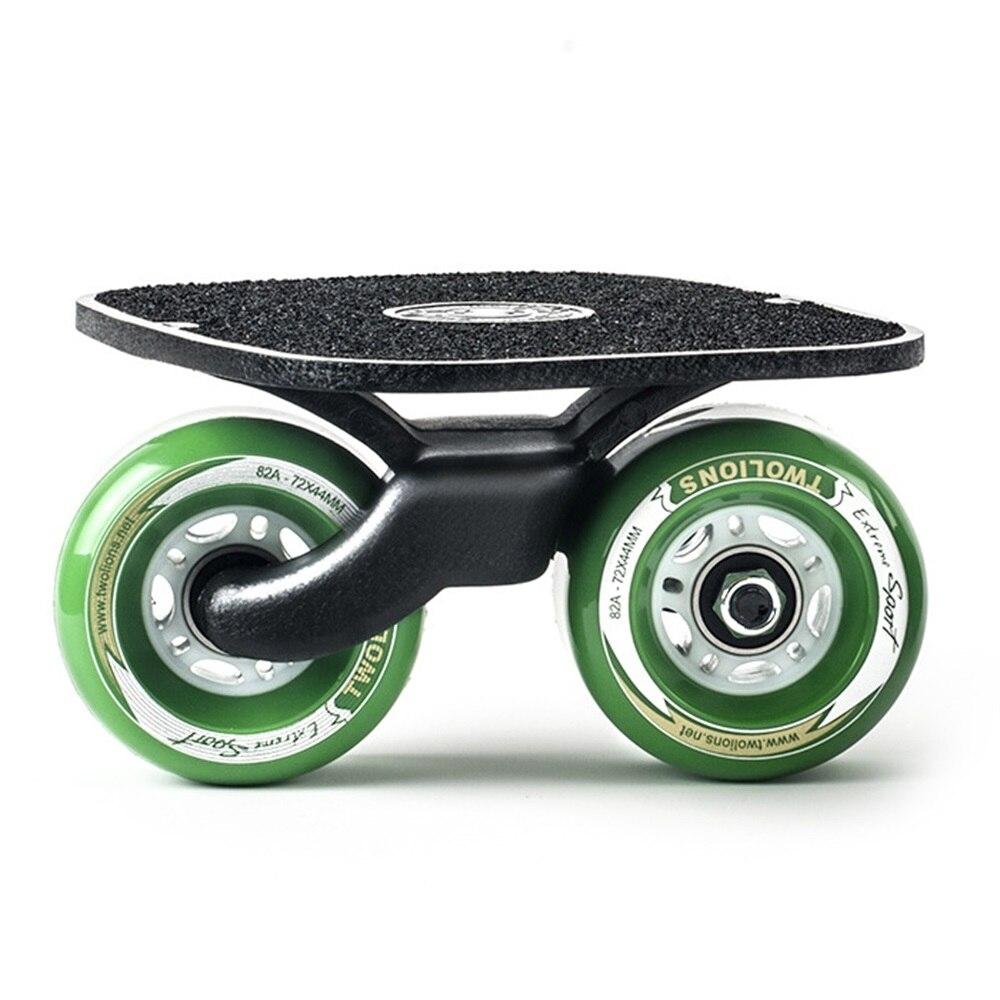 SPORTSHUB 1 Paire planche de skate Drift board skate pour Rouleau Route Dérive Plaque Anti-dérapage Planche À Roulettes Sport Métal Pédale roues pu O2K0013 - 6
