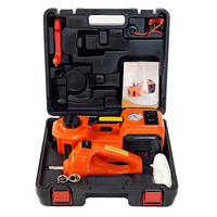 Fast Free Shipping Portable 3 Functions Electric Hydraulic Jack Impact Wrench And Air Compressor For Russian