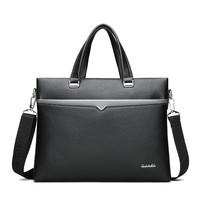 Male Classic Travel Shoulder Bag Portable Vintage Laptop Bag Handbags Men Crossbody Bag Men's Travel Brown Leather Briefcase