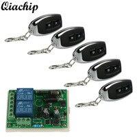 433MHz RF Learning Code Transmitter Receiver 2 Channel Transmitter 2 Channel Receiver Remote Door System Garage