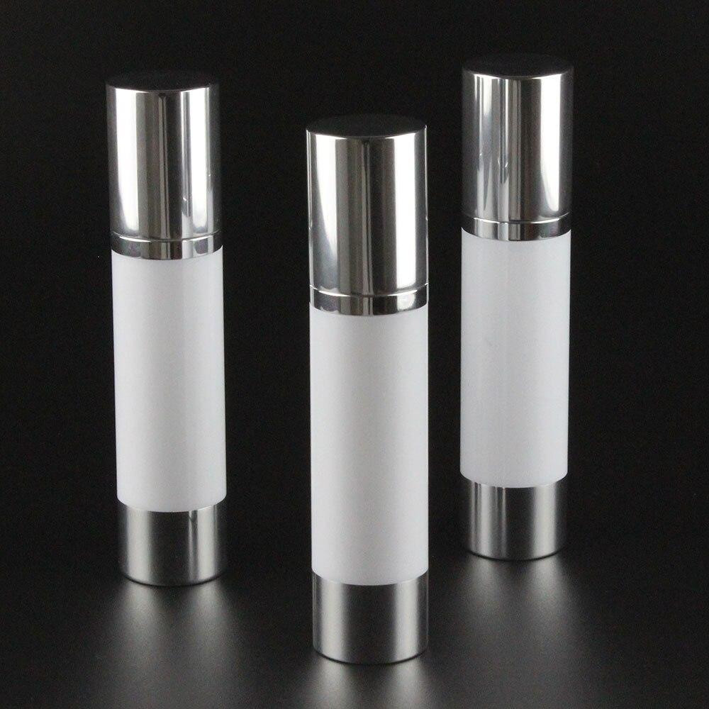 100pcs 50ml aluminum airless pump bottle manufacturers 50ml aluminium pump bottle 50ml aluminium airless packaging cosmetic