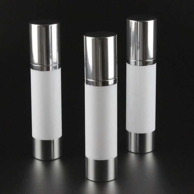 100pcs 50ml Aluminum Airless Pump Bottle Manufacturers