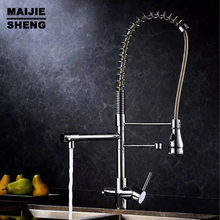 kitchen faucet 3 way double function filler Kitchen Faucet Three Way Tap for Water Filter Kitchen pull out with spray pure water