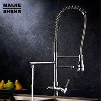 Kitchen Faucet 3 Way Double Function Filler Kitchen Faucet Three Way Tap For Water Filter Kitchen