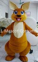 Hot sale 2016 Adult lovely kangaroo mascot costume custom made mascot fancy dress costumes animal costume party costumes