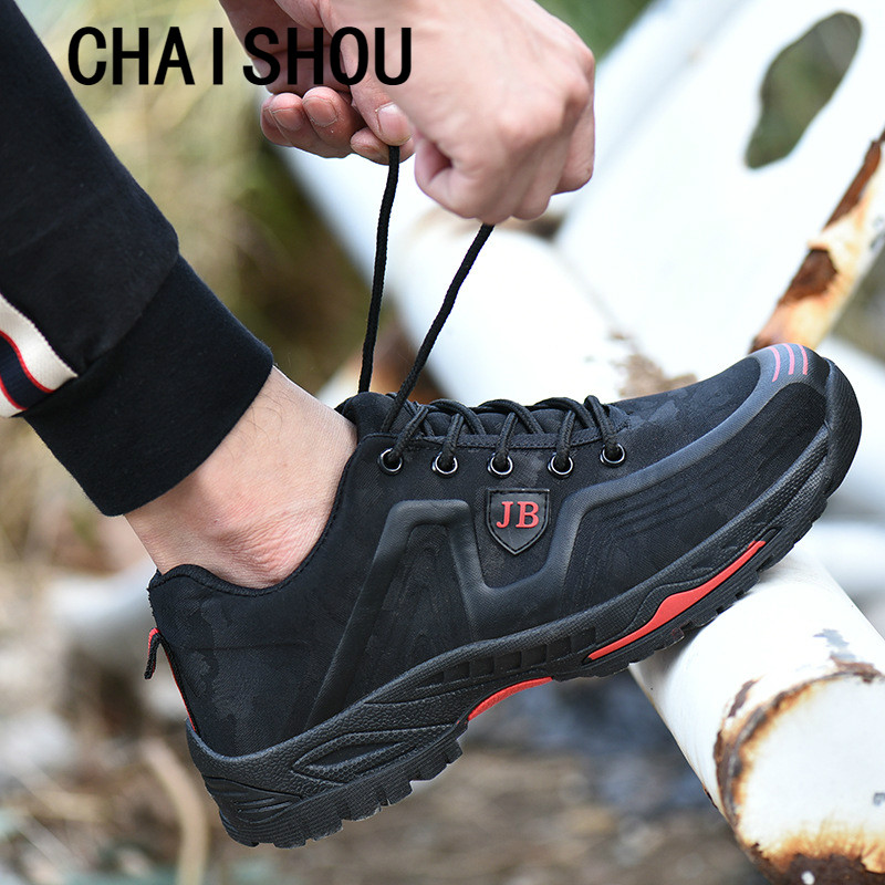Men Spring Summer Light Breathable Deodorant Safety Work Shoes Steel Toe Safety Shoes Cap Protective Shoes CS-58