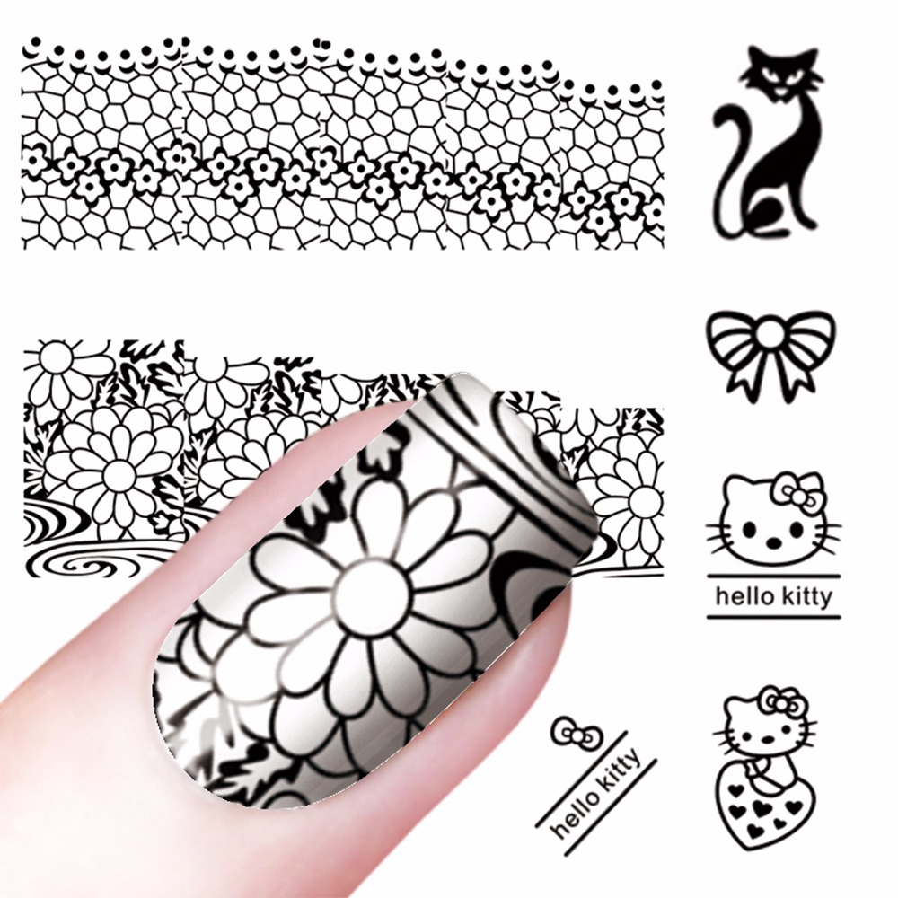 Nail Art Templates 1pc 2.4cm Clear Marshmallow Jelly Nail Stamper Soft Silicone Head Manicure Nail Art Stamping Tool #gd-13 High Quality Materials Nails Art & Tools