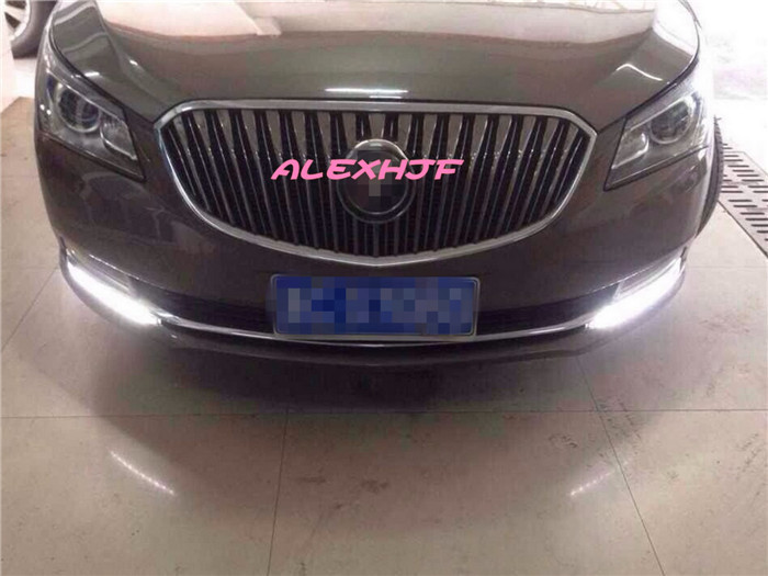 Yeats LED Daytime Running Lights DRL, LED Front Bumper Light, LED Fog Lamp case for Buick Lacrosse 2014~2016 1:1 for opel astra h gtc 2005 15 h11 wiring harness sockets wire connector switch 2 fog lights drl front bumper 5d lens led lamp