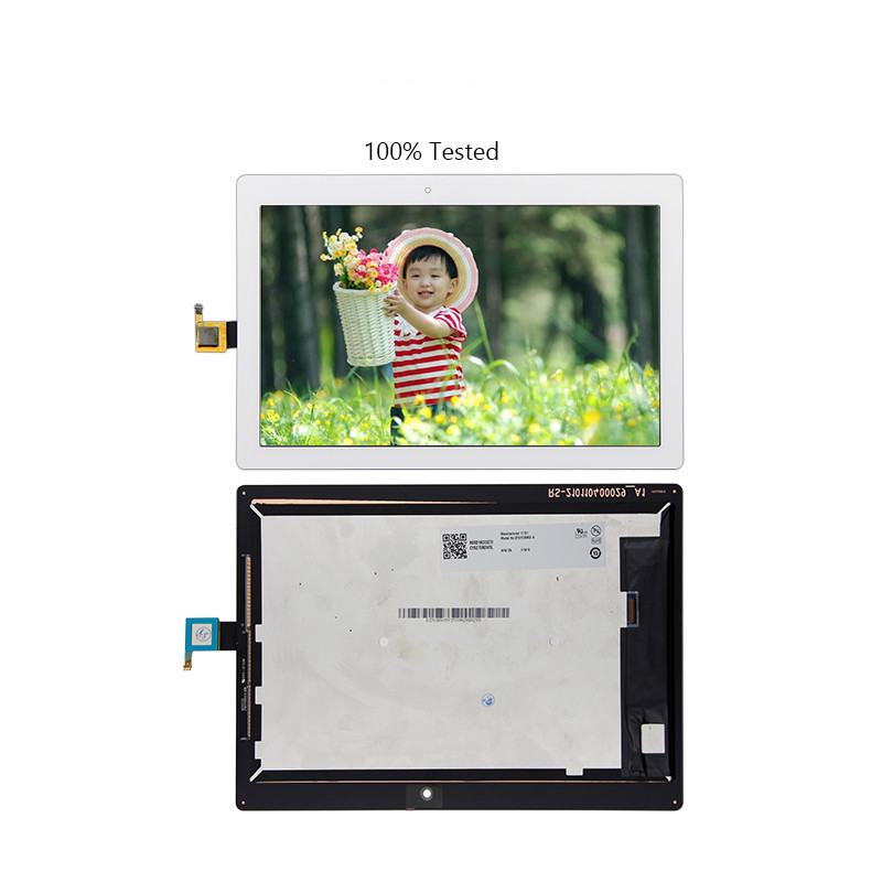 Free Shipping For Lenovo Tab 2 A10-30 Digitizer Touch Screen Lcd Screen Display Assembly Replacement lcd display screen touch screen digitizer assembly for lenovo vibe x2 cellphone free shipping