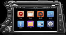 2Din7inch Car head unit dvd player radio stereo Fit SsangYong Kyron, Actyon, Korando 2005 2006-  2014 2015 3G GPS BT FM SD map