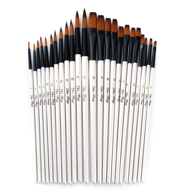 Artist Paint 3pce Brushes Set For Edible Art Paints Complete In Specifications Other Baking Accessories Kitchen, Dining & Bar