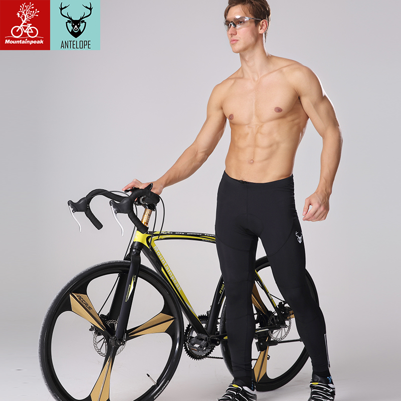 Mountainpeak nový jaro / léto 2017 jízda na kole výška kalhoty muži Horské kolo antibakteriální houba polštář v Itálii