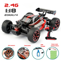 RC Car Buggy Hobby GS06B 1/18 2.4G Rock Crawlers high speed 4CH 4WD Double Motors Drive Remote Control Car Model Off-Road Car