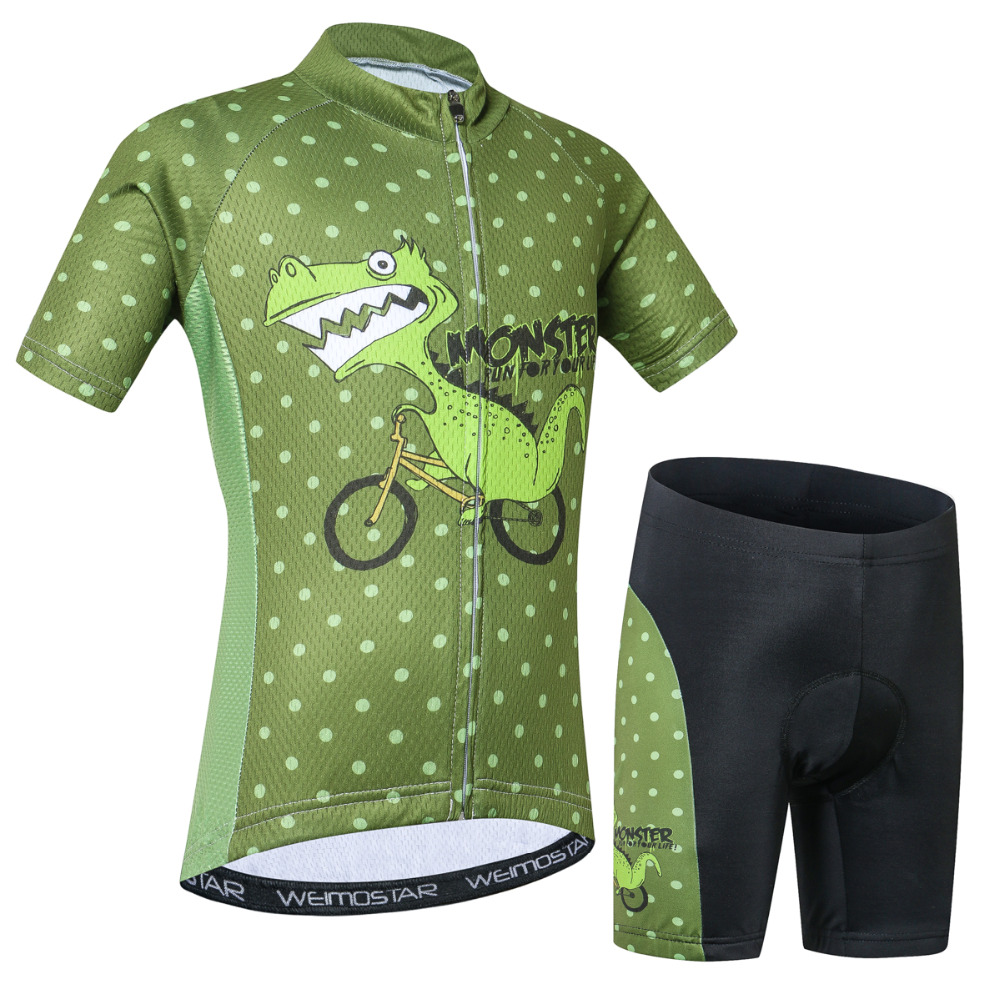 Cycling Jersey Kids Jersey Shorts sets Children Bike  MTB Clothing Bicycle Top Ropa Ciclismo Girl Boy mtb Shirts Suit|Cycling Sets|   - title=