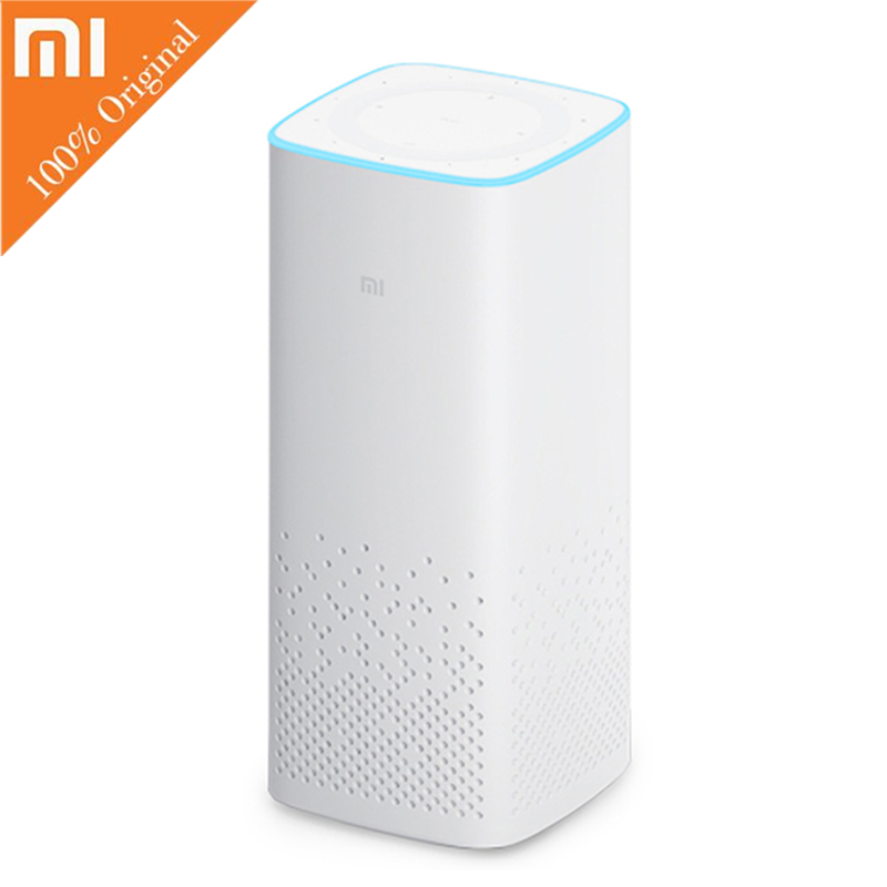 Original Xiaomi AI Bluetooth 4.1 Speaker Wire Smart Music Player Supports Voice control Intelligent Speakers Chineses Version все цены