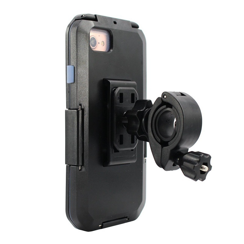 Waterproof Motorcycle Phone Holder For iPhoneX XR XS MAX 8 7 6s Plus Phone Stand Support Bicycle GPS Armor Case Telephone Moto