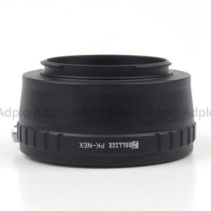Image 5 - Pixco PK NEX, חדש עדשת מתאם חליפת עבור Pentax K עדשה כדי חליפה עבור Sony E הר NEX מצלמה