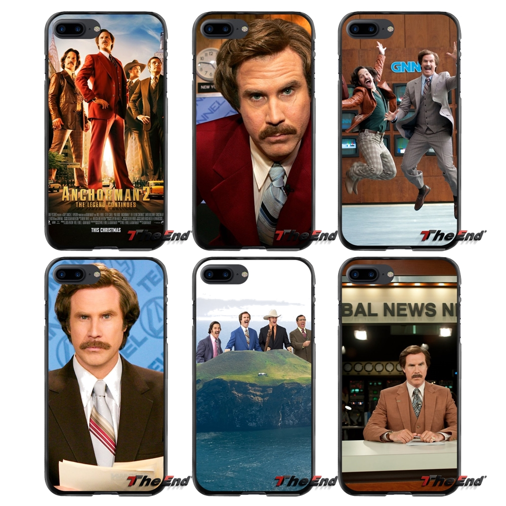 For Apple iPhone 4 4S 5 5S 5C SE 6 6S 7 8 Plus X iPod Touch 4 5 6 Anchorman Accessories Phone Cases Covers